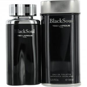 Black Soul de Ted Lapidus Eau de Toilette Vaporisateur 100ml