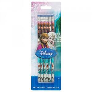 6 Crayons à Papier La Reine des Neiges