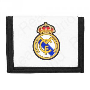Portefeuille Real Madrid Noir/Blanc