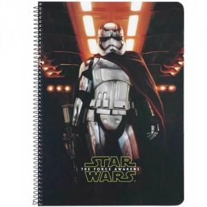 Cahier à Spirale A4 Star Wars