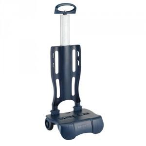 Trolley Pliable pour Sac à Roulette Bleu marine