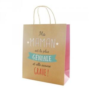 """Sac Cadeau """"Maman La Plus Génial"""""""