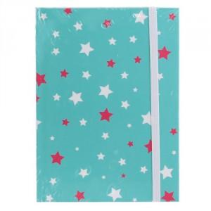 Cahier de 96 pages Format A6 Bleu