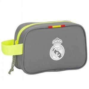Trousse de Toilette Real Madrid Gris/Vert
