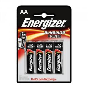 Lot de 4 Piles Energizer AA LR6 Alcaline